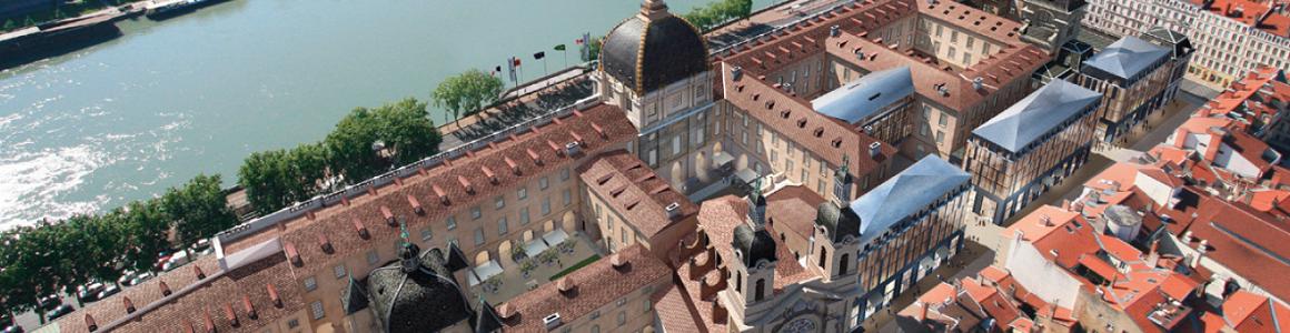 Le Grand Hotel Dieu de Lyon
