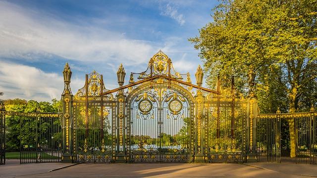 L'entrée du Parc de la Tête d'Or